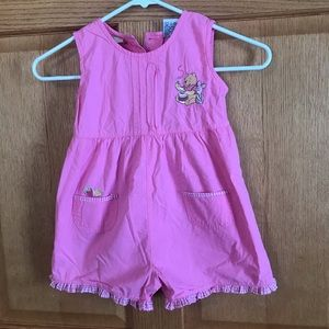 Disney Winnie the Pooh overalls size 4T
